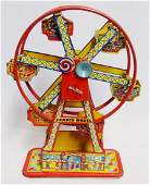 Tin Litho Hercules Chein Windup Ferris Wheel