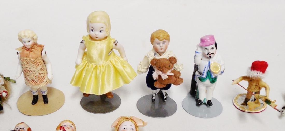 Lot of 16 Miniature Dolls - 2
