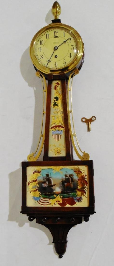 Louis Weule Co. Decorative Wall Clock with Key