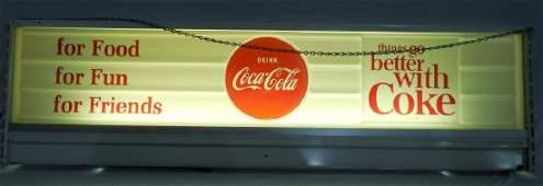 Coca Cola Hanging Light WORKS