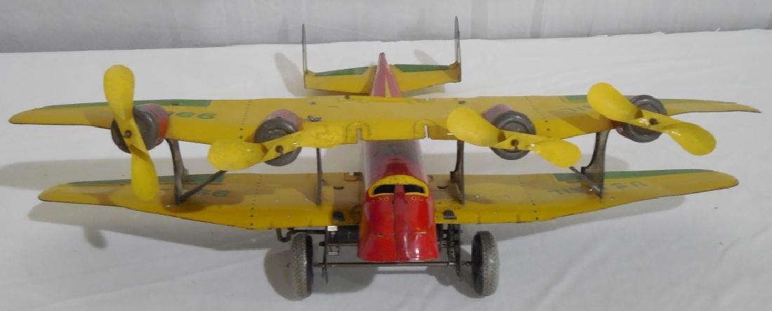 Marx Bi-wing airplane