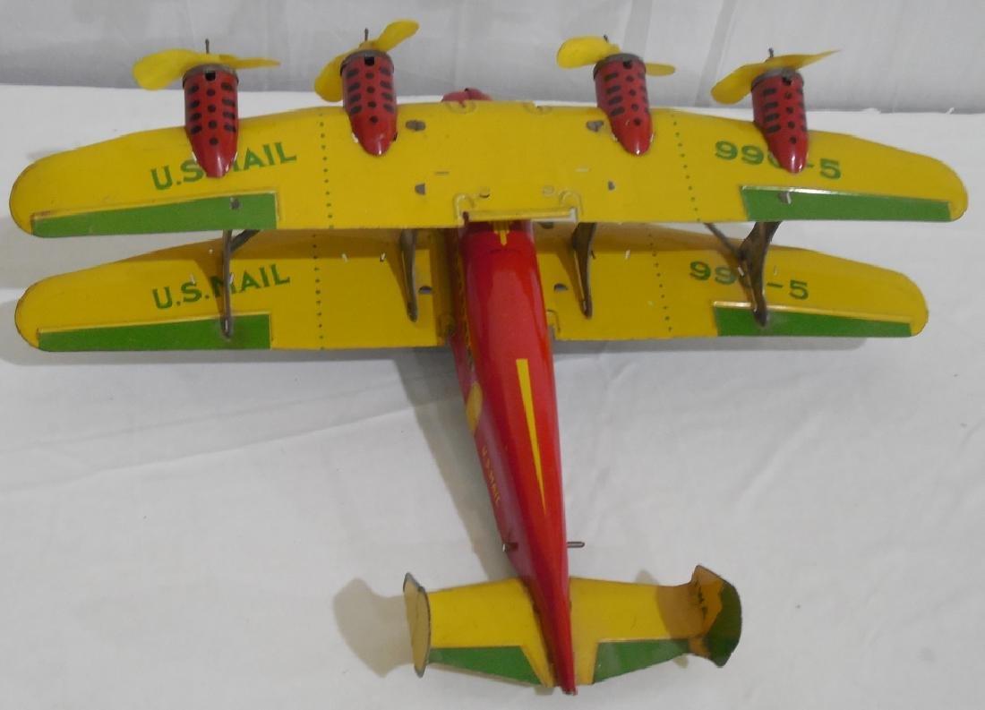 Marx Bi-wing airplane - 2