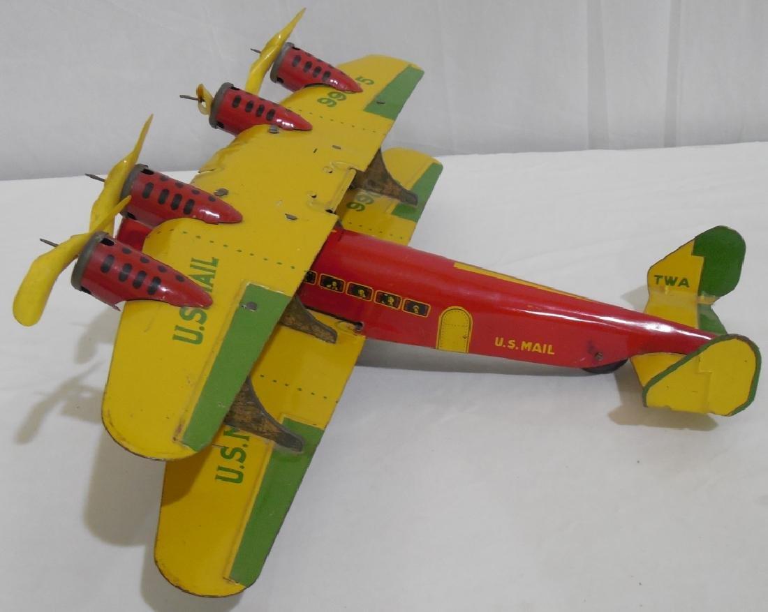 Marx Bi-wing airplane - 3