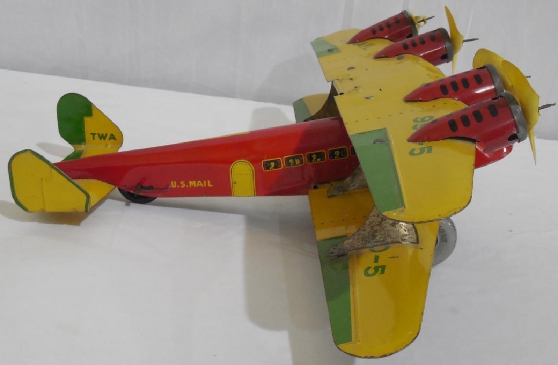 Marx Bi-wing airplane - 4