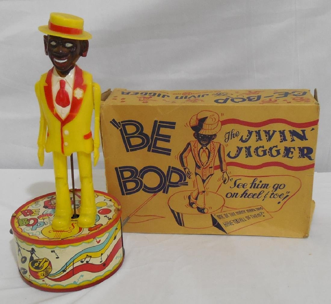 Marx Be-Bop Jigger Dancing Toy in box