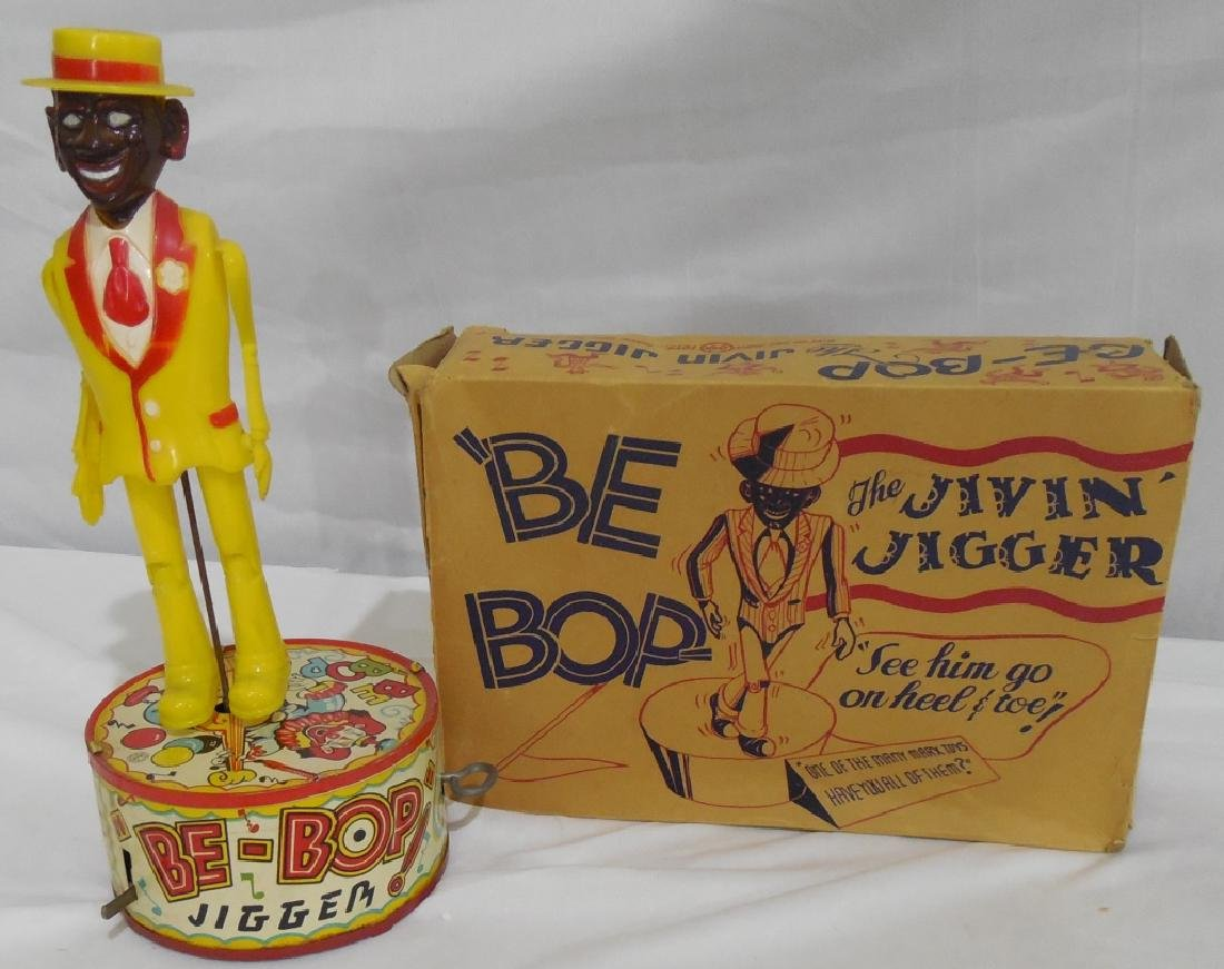 Marx Be-Bop Jigger Dancing Toy in box - 2