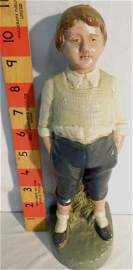 Cast-iron Boy with hands in pocket