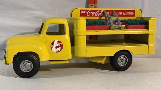 Buddy L Coca-Cola delivery truck