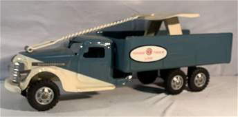 Buddy L Pull and Ride Baggage Truck