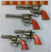 4 Kenton Gene Autry Cap Pistols