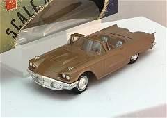 1960 Ford Thunderbird convertible promo model