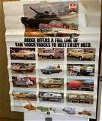 1 Dodge and 2 Dodge Ram  Advertising posters