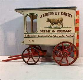 Alderney Dairy Milk & Cream Wagon