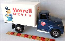 Morrell Meats Delivery Truck Pressed Steel