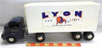 Smith  Miller LYON Van Lines Truck by Smitty Toys