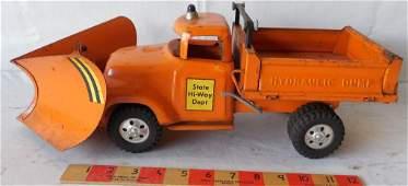 Tonka State Hi-way Dept Dump Truck with Plow