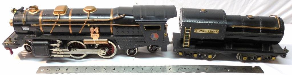 Lionel No 400E Bild-A-Loco Engine & Tender