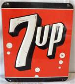 7UP Embossed Sign