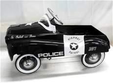 Glide Ride Retro Highway Patrol Pedal Car