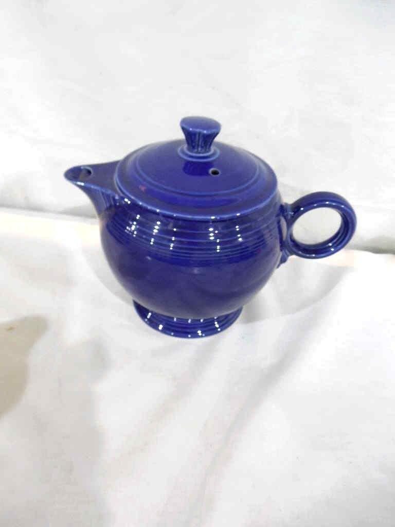 Fiesta Teapot Cobalt Blue