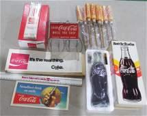 Coca Cola Lot of Mixed Items