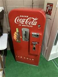 Coca Cola Bottle Vending Machine No Key
