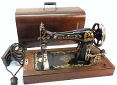 Minnesota A Sewing Machine w/Case