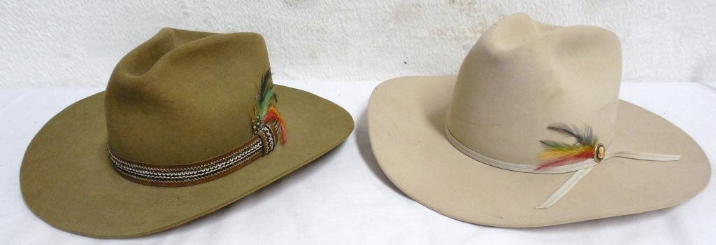 Pair of Stetson Hats 1 Winchester Ltd. Edition