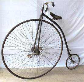 Penny Farthing High Wheel Bicycle Replica Made in USA