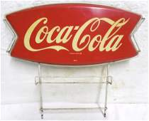 CocaCola Display Rack 15 12 H x 16 12 W Metal
