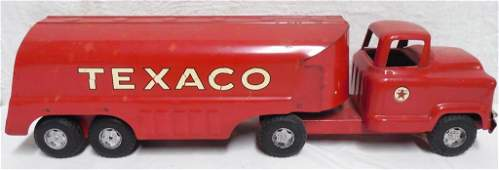 Buddy L Texaco Tanker Truck overall nice condition
