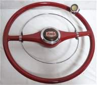 Vintage Chevrolet Steering Wheel  Suicide Knob Horn