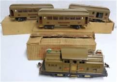 Lot of 4 Lionel Train Cars G Gauge original boxes