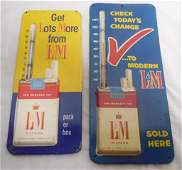 Pair of LM Thermometers see photos
