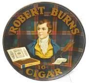 Robert Burns 10 Cent Cigar Charger some edge damage not