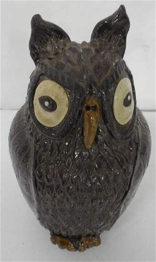 Pottery Owl Bank Contemporary Art Pottery