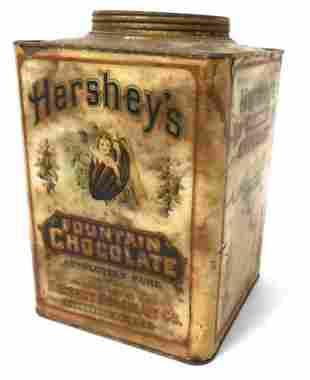 Hershey's Fountain Choc can,Lancaster,PA