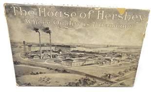 The House of Hershey cardboard box