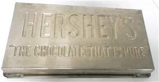 Tin Hershey's Chocolate mould