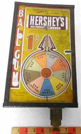 Hershey's Ball Gum Machine