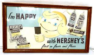 I'm Happy with Hershey's framed picture