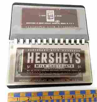 Album of Hershey's wrappers