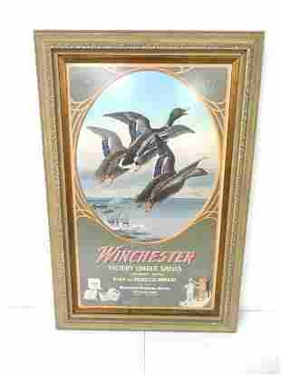 Contemporary Winchester Adv Poster framed