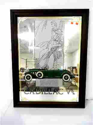 Contemporary Framed Cadillac Picture