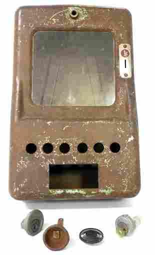 Metal Dispensing Machine Case,some parts