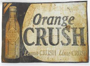 Orange Crush,Lemon Crush Tin Sign 191/4x27