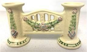 Roseville Double Bud Vase