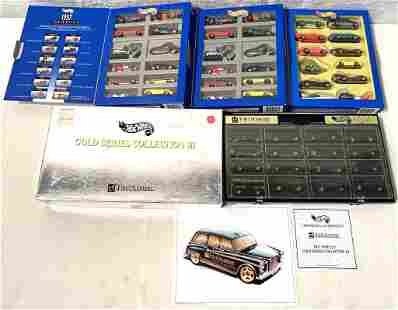 lot of 4 Hot Wheels 95 & 97 collections from Hill'