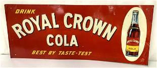 Tin Royal Crown Cola Sign