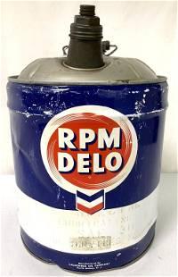 RPM Delo 5 gal oil can